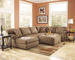 Of Living Rooms With Sectionals Ashley Furniture Living Room Fusion Ashley Cowan Mocha Brown