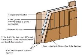 garage door plansFancy Idea Carriage House Door Plans 9 How To Build Wooden Garage