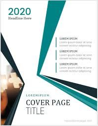 Coverpage Template 5 Best Business Report Cover Page Templates For Ms Word Ms