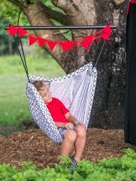 diy kids hammock swing chair and mini circus tent cover 3