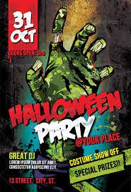 Halloween Party Flyer Ideas 15 Cool Halloween Party Flyers