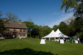 heritage museum and garden wedding location catered by the casual gourmet