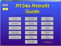 R134 Conversion Chart R 12 To R 134a Refrigerant Retrofit
