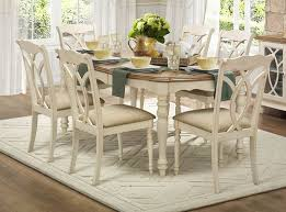 dining room tables oval. 78 oval dining table set in natural and antique white inside room tables decorations 17 t