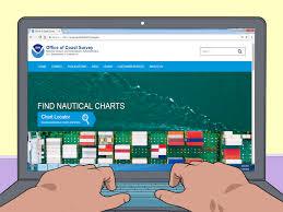 Marine Navigation Charts Uk How To Read A Nautical Chart 15 Steps Wikihow
