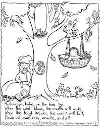 sparklebox nursery rhyme colouring sheets coloring pages free printable