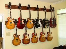 image of wood guitar wall mount