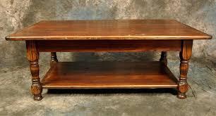 turned leg coffee table rustic reclaimed wood turned leg coffee table with shelf magnolia turned leg