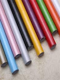 Buy Wall Paper Solid Color <b>Waterproof PVC Thick Self</b>-<b>adhesive</b> ...