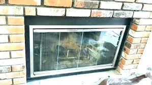 how to install fireplace doors post easy self
