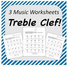 Treble Clef Music Store Treble Clef Music Worksheets