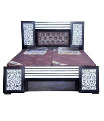 bed furniture image. New Shivam Furniture Double Bed Image