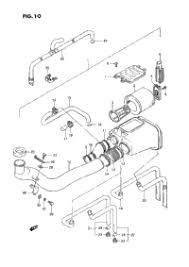 1987 suzuki quadrunner lt 4wd oem parts babbitts suzuki partshouse air cleaner model h j k l