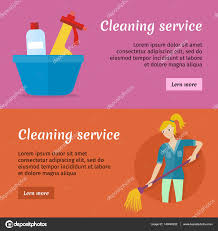 advertising a cleaning business cleaning service advertisement cards set poster stock vector