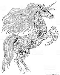 Coloring Page Unicorn Coloring Pages For Adults Fun With Unicorns