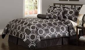 bedroom bedding sets black and white comforter set queen bed with arch headboard plain set