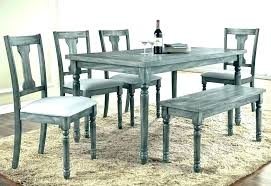 distressed dining table and chairs rustic gray dining table gray dining room set distressed gray dining