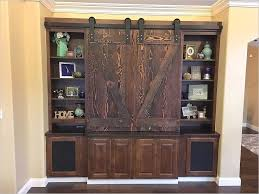 good barn door wall unit for easylovely design styles 09 with barn door wall unit