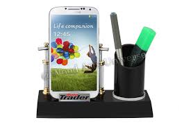 desktop cell phone and pen holder waupc2210gif pertaining to amazing household cell phone stands for desk designs
