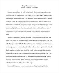 Argumentative Essay From How To Write An Argumentative Essay With