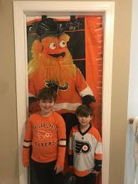 Gritty Growth Chart Flyers Philadelphia Flyers Gritty Mascot Growth Chart Banner New Ebay