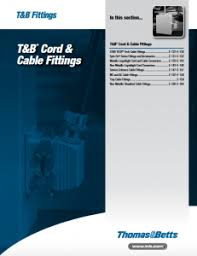 T B Cord Cable Fittings