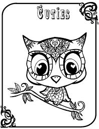 Small Picture Www Cute Owl Coloring Pages Coloring Coloring Pages