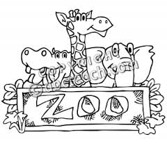 zoo sign clip art black and white. Fine Art For Zoo Sign Clip Art Black And White