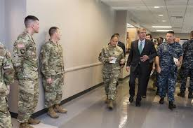 special report force of the future secretary ash carter meets workers during a to the chicago military entrance processing