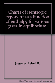 Charts Of Isentropic Exponent As A Function Of Enthalpy For