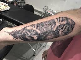 тату тигры 93 фото татуировок на разных частях тела
