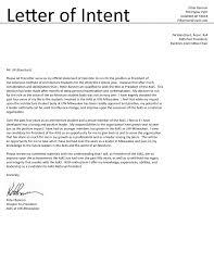 Internship Letter Of Intent 24 Internship letter of intent standart monoday 1
