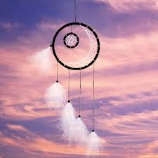 Where To Buy Dream Catcher Hoops 100CM Feather Dream Catcher Hoop Feathers Polyester Thread Wall 100