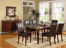 faux marble table w 4 chairs 399 direct from a furniture
