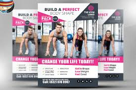 Free Flyer Fitness Brochure Template Psd Gym Brochure Template Free Download
