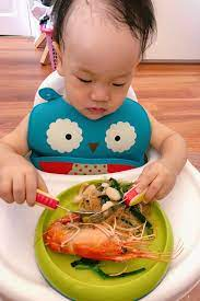 Mẹ Việt chia sẻ tất tần tật kinh nghiệm cho con ăn dặm BLW, tự xúc thìa từ  khi 10 tháng tuổi
