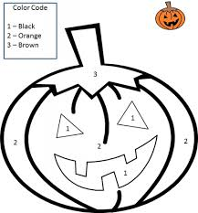 Small Picture Color Numbers Halloween And Numbers On Pinterest within Halloween