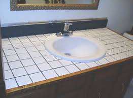 bathroom countertop tile ideas. How To Turn Your Tile Counter Top In Faux Sandstone Without Removal, Bathroom Ideas Countertop