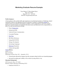 Gallery Of Resume For Fresh High School Graduate Resume Template