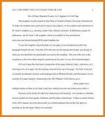 Essay Outline Template Apa Format With Research Templates On Rough