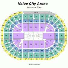 Value City Arena Seating Chart Comprehensive Ohio State Stadium Seating Chart View Ohio