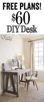 wood office desk plans terrific. Terrific Diy Desks For Small Spaces Photo Design Ideas Wood Office Desk Plans