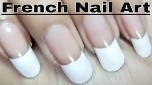 Nail Polish Ki Design French Nail Polish Art Designs At Home Tutorial