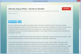 essay writer software auto assignment writer dr essay sentence shuffler