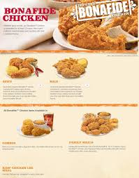 popeyes menu and specials