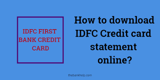 We did not find results for: Idfc Credit Card Statement Download Online Within 1 Minute