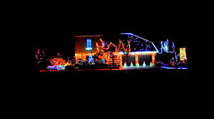 Christmas Light Show Amazing Grace Techno Amazing Grace Techno Christmas Lights 2015