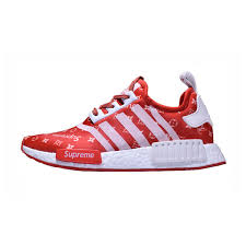 louis vuitton x adidas. new limited supreme x louis vuitton adidas nmd r1 boost running shoes red