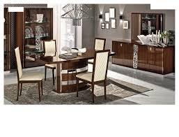 modern formal dining room furniture. Dining Room Furniture Modern Formal Sets Roma Walnut, Italy .