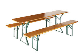 Beer Table Set  Beer Garden Furniture  Forest Table South TyrolBeer Garden Benches